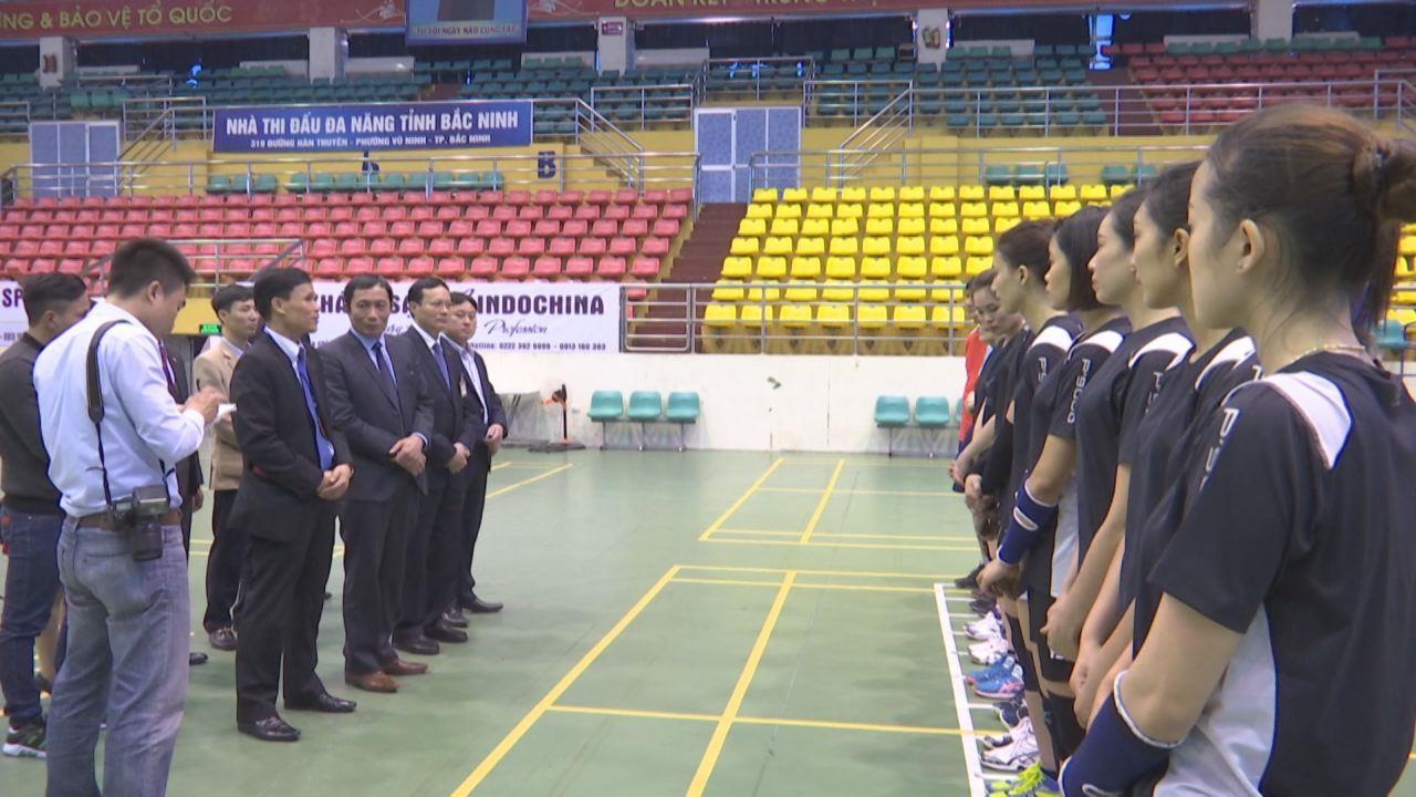 Sẵn sàng cho giải bóng chuyền nữ Kinh Bắc - cup IMP