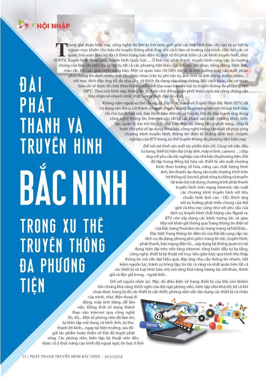 Đài Phát thanh & Truyền hình Bắc Ninh trong xu thế truyền thông đa phương tiện