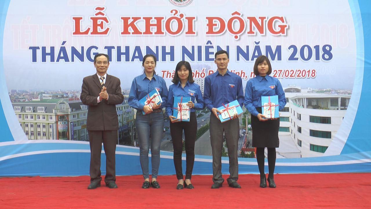 Thành Đoàn Bắc Ninh khởi động Tháng thanh niên năm 2018