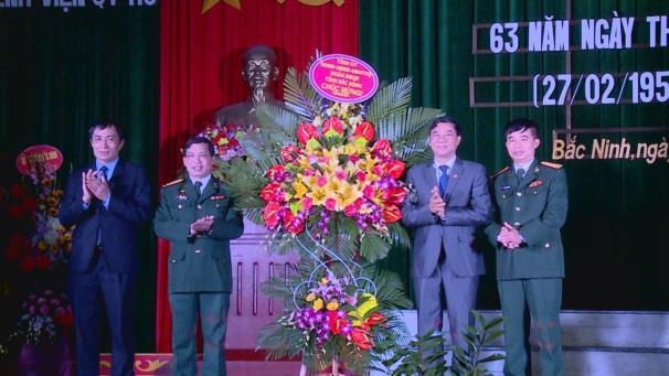 Bệnh viện Quân y 110 kỷ niệm 63 năm Ngày Thầy thuốc Việt Nam