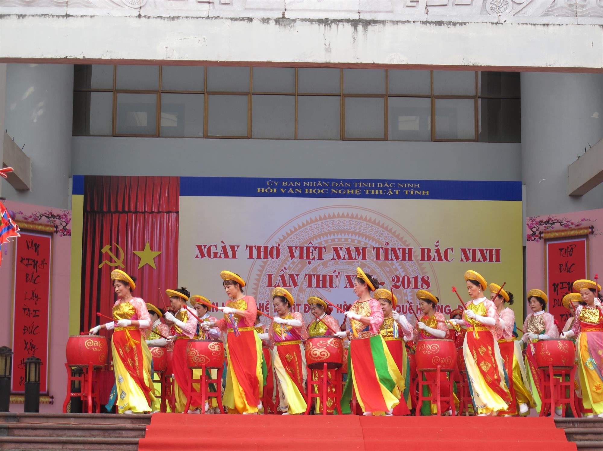 Khai mạc Ngày thơ Việt Nam tỉnh Bắc Ninh lần thứ XVI