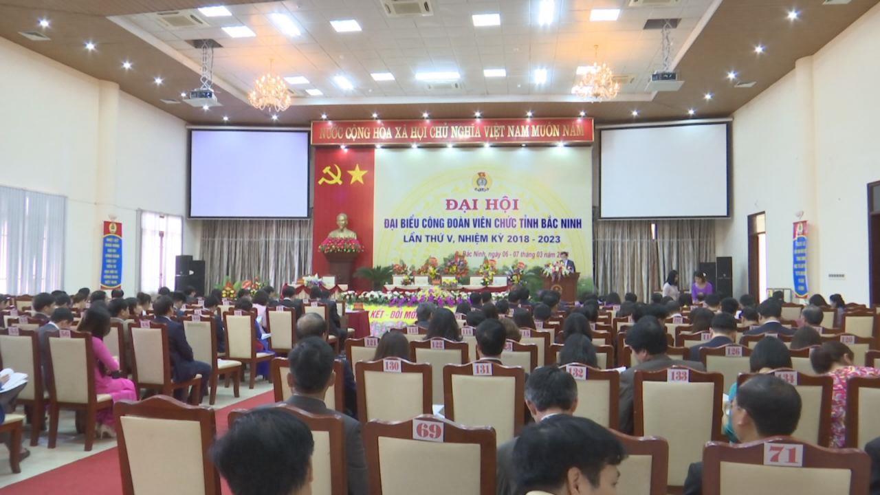 Phiên thứ Nhất Đại hội đại biểu Công đoàn viên chức tỉnh lần thứ V, nhiệm kỳ 2018 - 2023