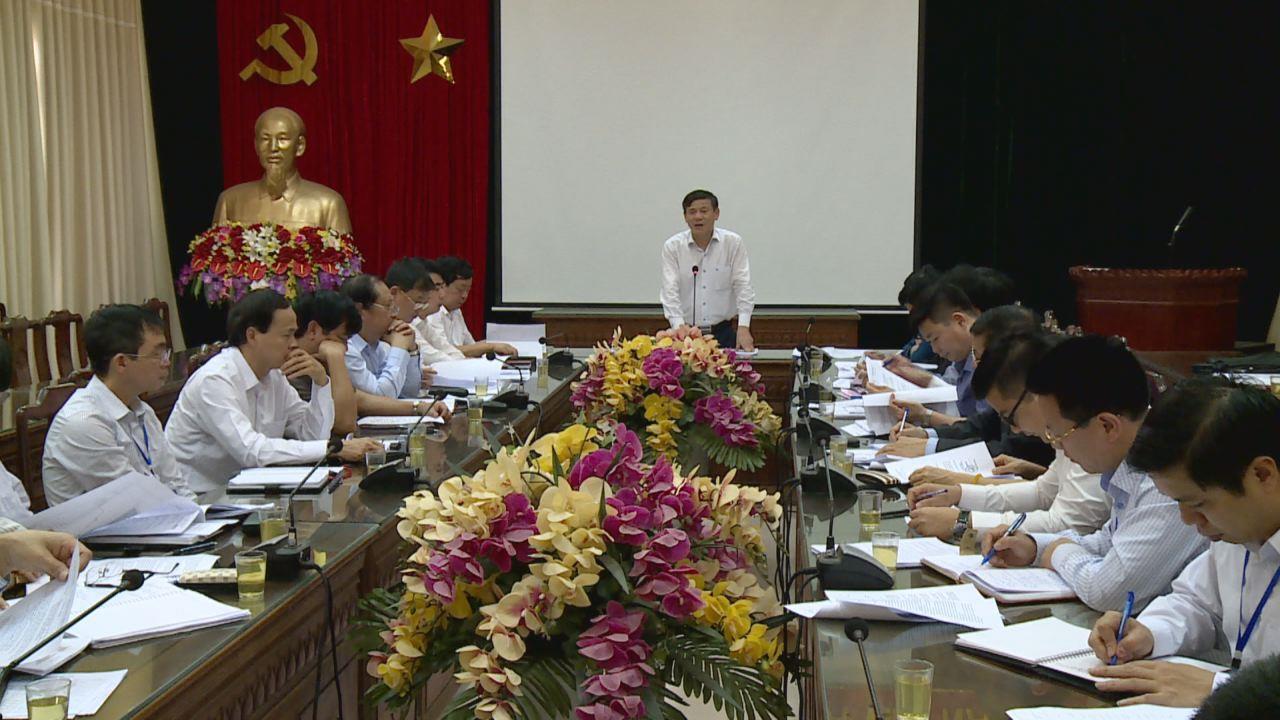 Phó Chủ tịch Thường trực UBND tỉnh làm việc với huyện Gia Bình về dự án xây dựng Trung tâm Nghiên cứu, sản xuất thuốc tại xã Đại Bái
