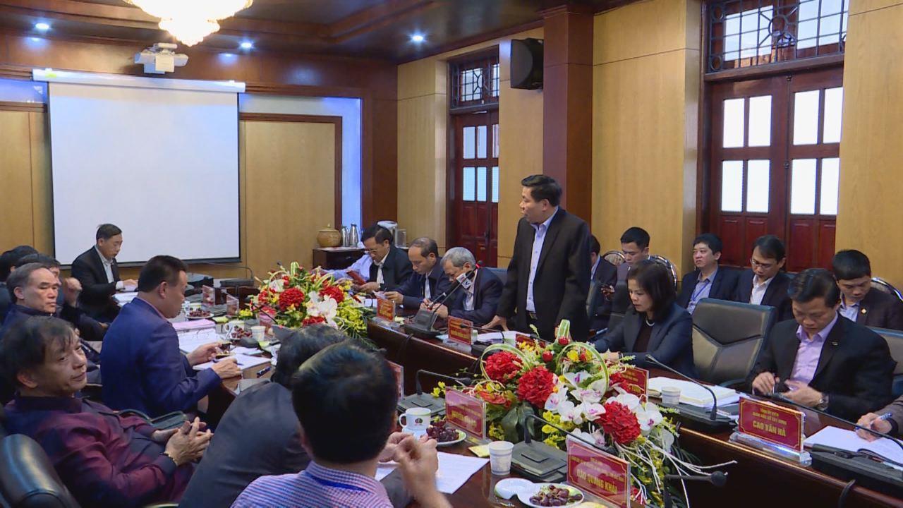 Thường trực Tỉnh ủy làm việc với Công ty cổ phần Tập đoàn Dabaco Việt Nam