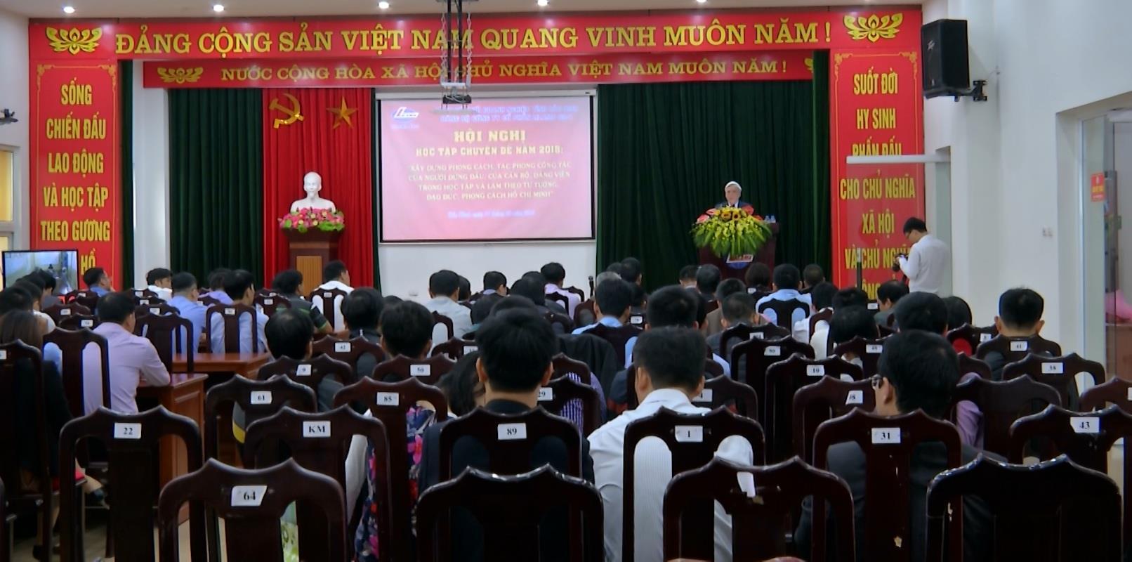 Đảng bộ Công ty cổ phần LILAMA 69-1  học tập chuyên đề đạo đức Hồ Chí Minh năm 2018