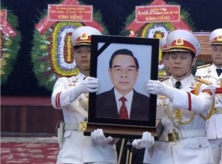Lễ Truy điệu, Lễ An táng nguyên Thủ tướng Phan Văn Khải