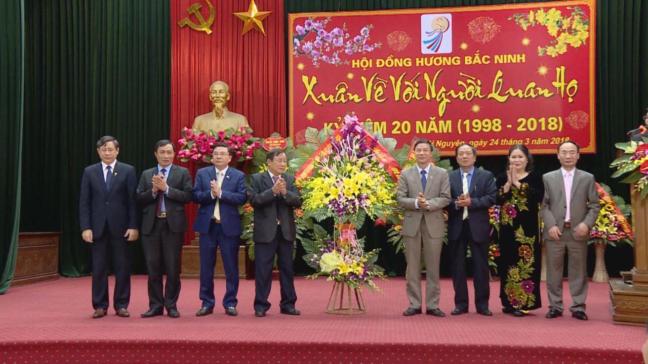 Kỷ niệm 20 năm thành lập Hội đồng hương Bắc Ninh tại Thái Nguyên