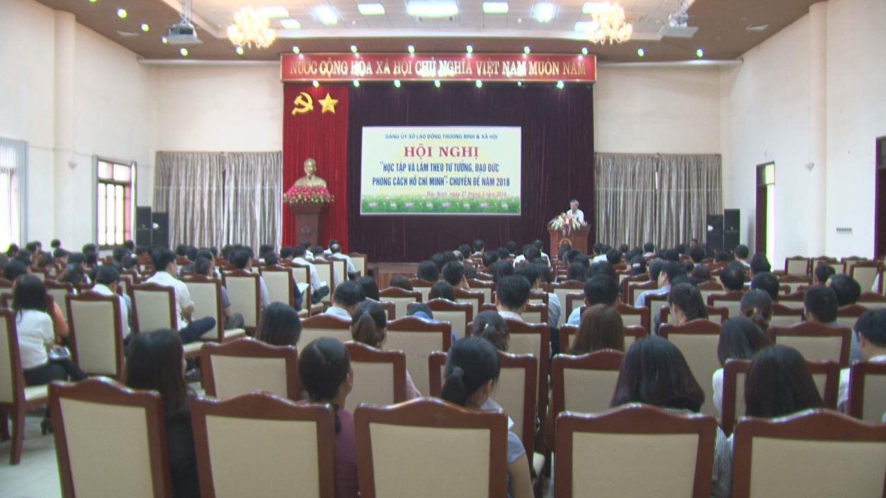 Sở Lao động, Thương binh và Xã hội tổ chức  Hội nghị xây dựng phong cách, tác phong người đứng đầu