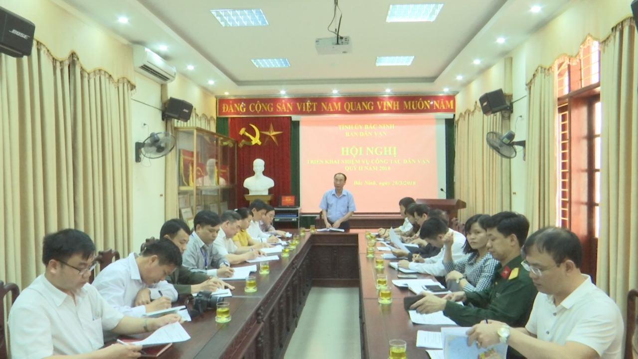Ban Dân vận Tỉnh ủy triển khai nhiệm vụ Quý II