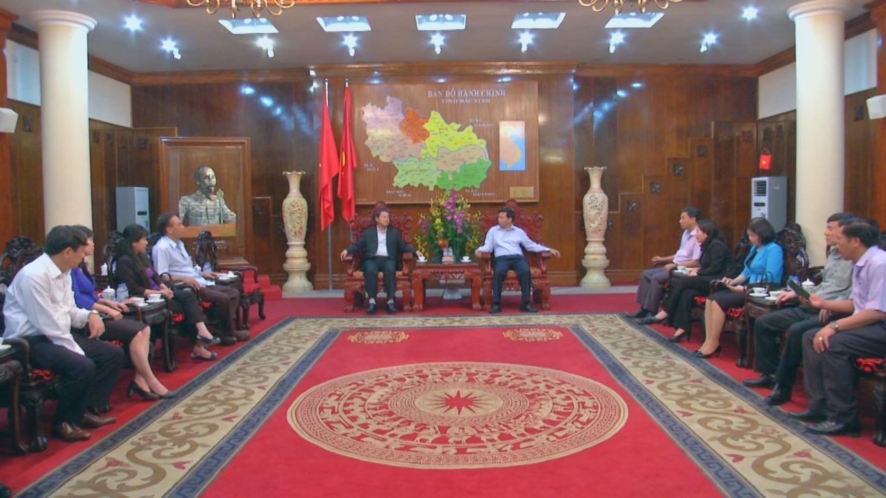 Phó Chủ tịch Quốc hội làm việc với tỉnh Bắc Ninh