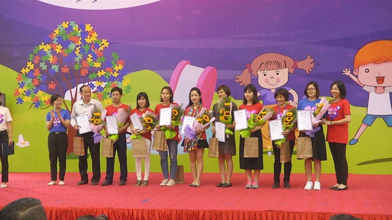 Mít tinh Ngày Việt Nam nhận thức về tự kỷ tại Bắc Ninh 2018