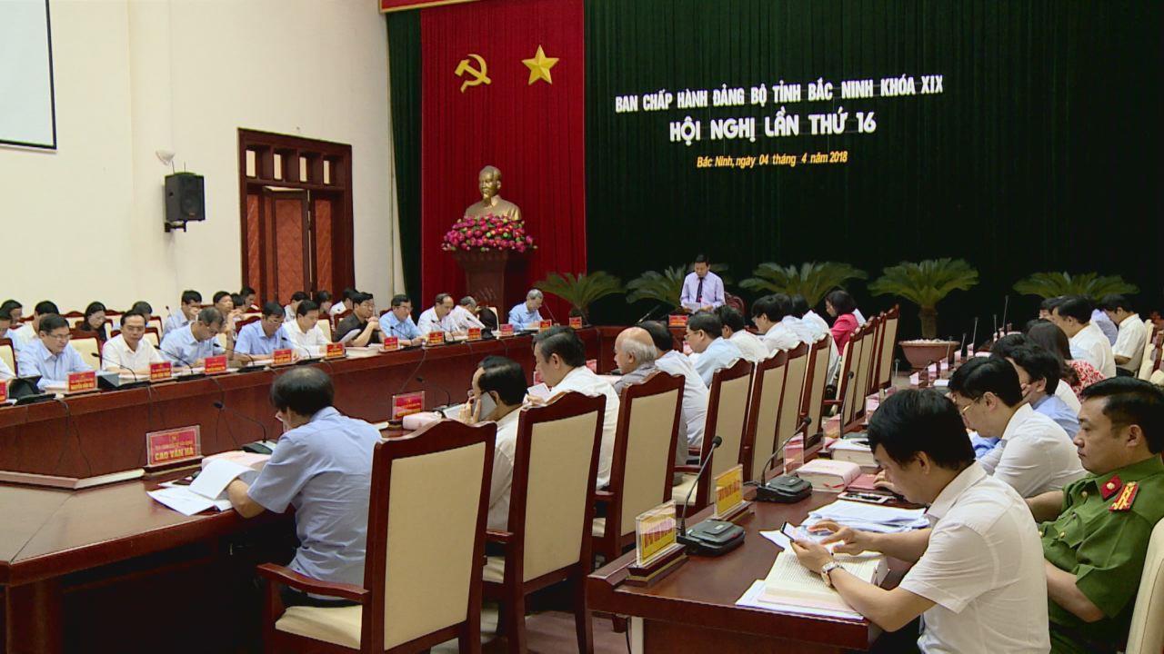 Hội nghị lần thứ 16, Ban chấp hành Đảng bộ tỉnh khóa XIX