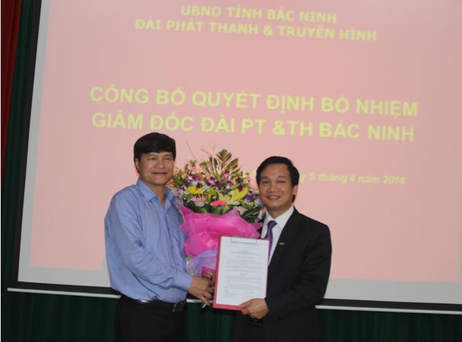 Công bố Quyết định bổ nhiệm Giám đốc Đài PT & TH Bắc Ninh
