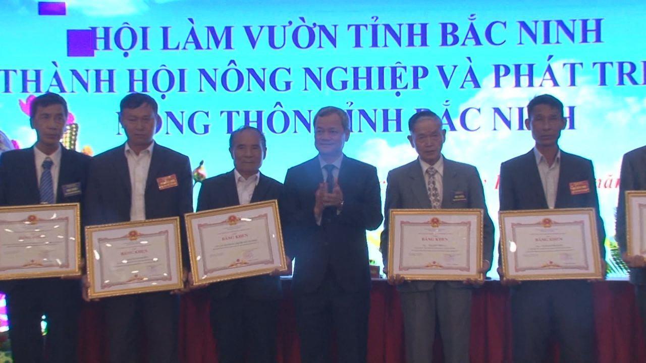 Đại hội đổi tên Hội Làm vườn tỉnh thành Hội NN&PTNT tỉnh Bắc Ninh