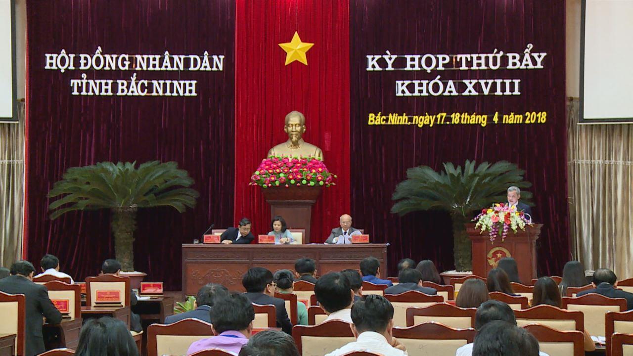 Khai mạc Kỳ họp thứ Bẩy, HĐND tỉnh khóa XVIII