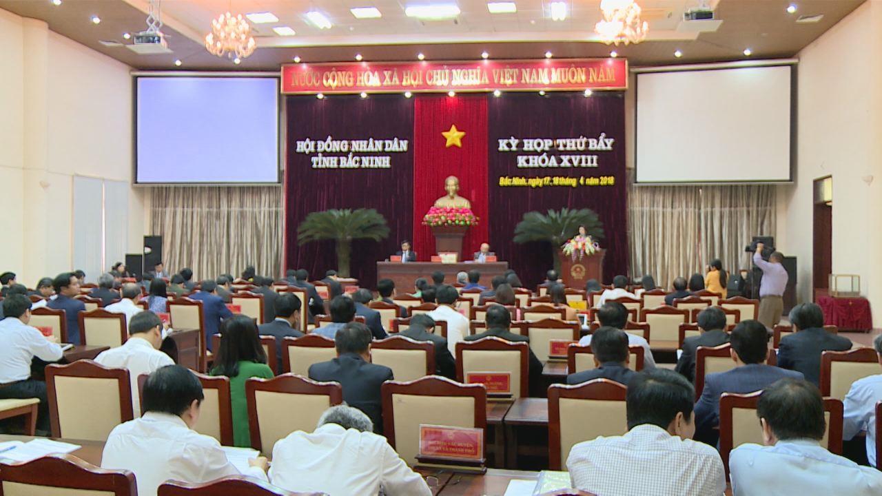 Kỳ họp thứ Bảy, HĐND tỉnh thông qua 23 Nghị quyết