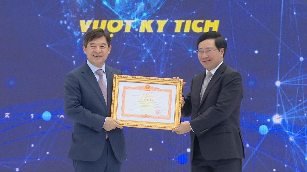 Công ty Samsung Electronics Việt Nam kỷ niệm 10 năm thành lập