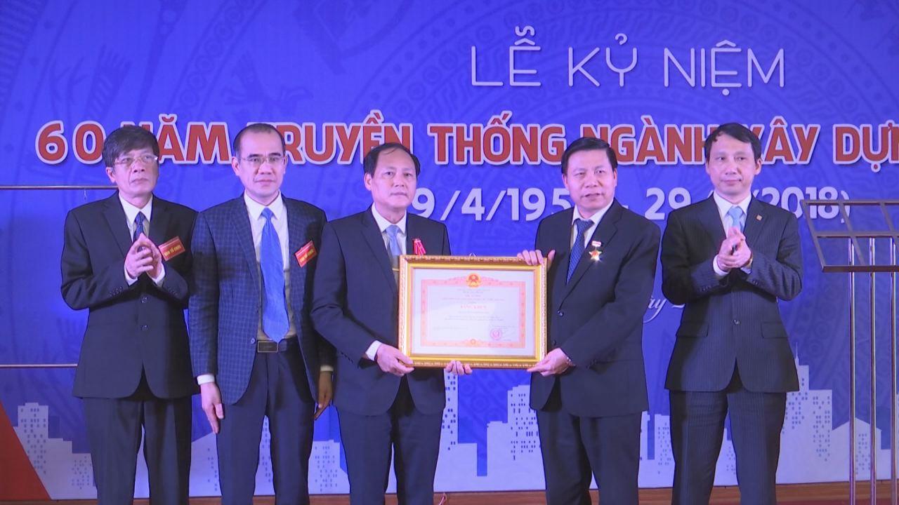 Sở Xây dựng kỷ niệm 60 năm ngày truyền thống ngành Xây dựng Việt Nam