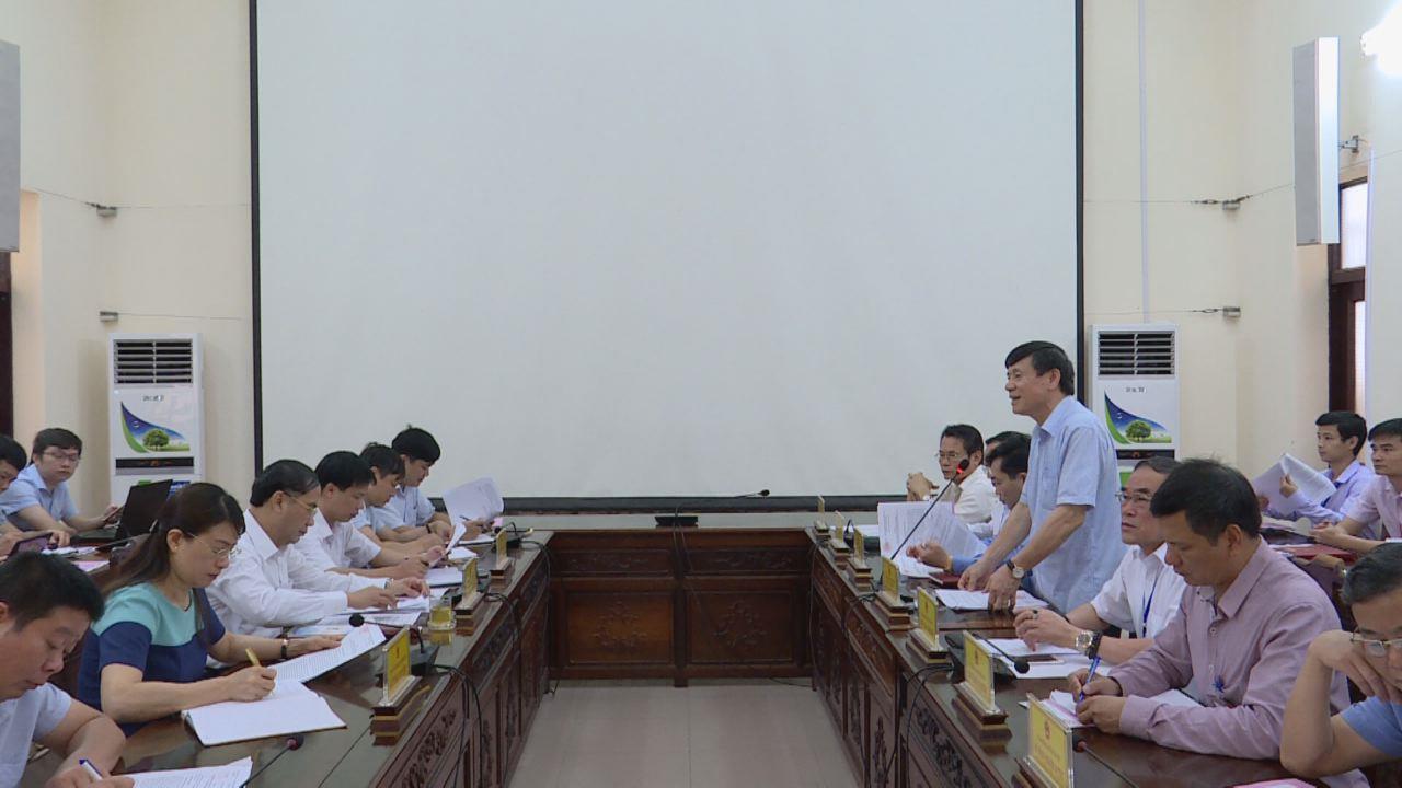 Lãnh đạo tỉnh làm việc với đoàn công tác tỉnh Sơn La