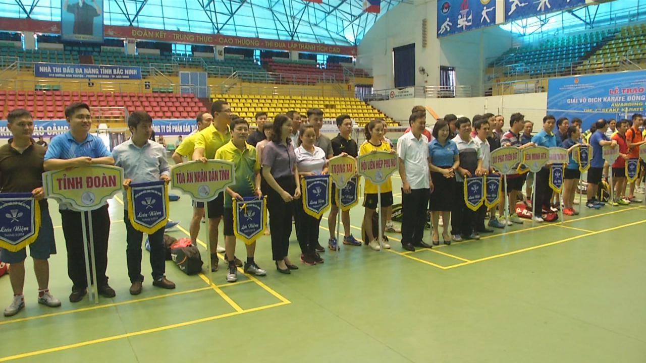 Khai mạc giải Cầu lông Công đoàn viên chức tỉnh 2018