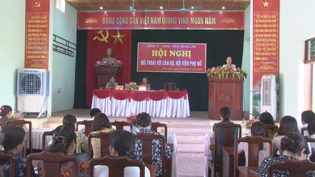 Hội Liên hiệp Phụ nữ tỉnh tổ chức Hội nghị đối thoại tại huyện Tiên Du