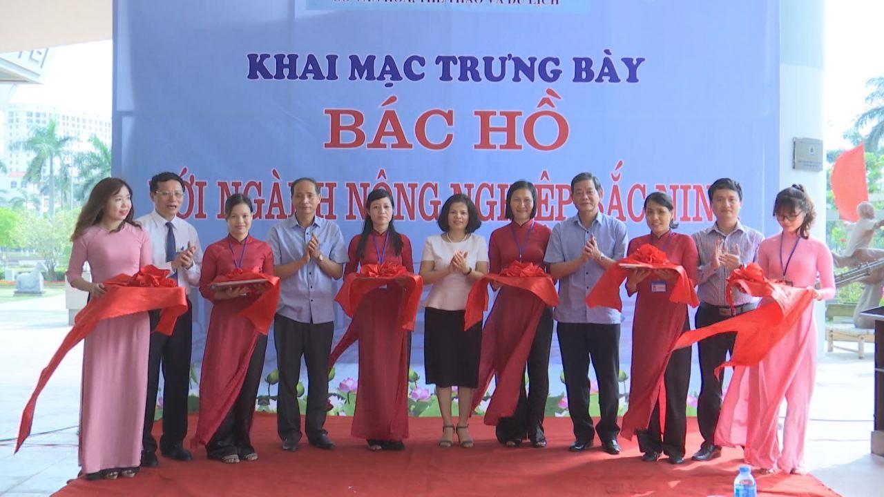 Khai mạc Trưng bày Bác Hồ với ngành Nông nghiệp Bắc Ninh