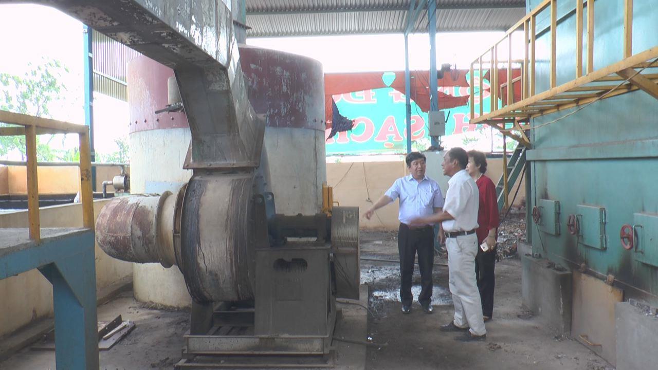 Sở Khoa học và Công nghệ thẩm định công nghệ lò đốt rác thải rắn sinh hoạt