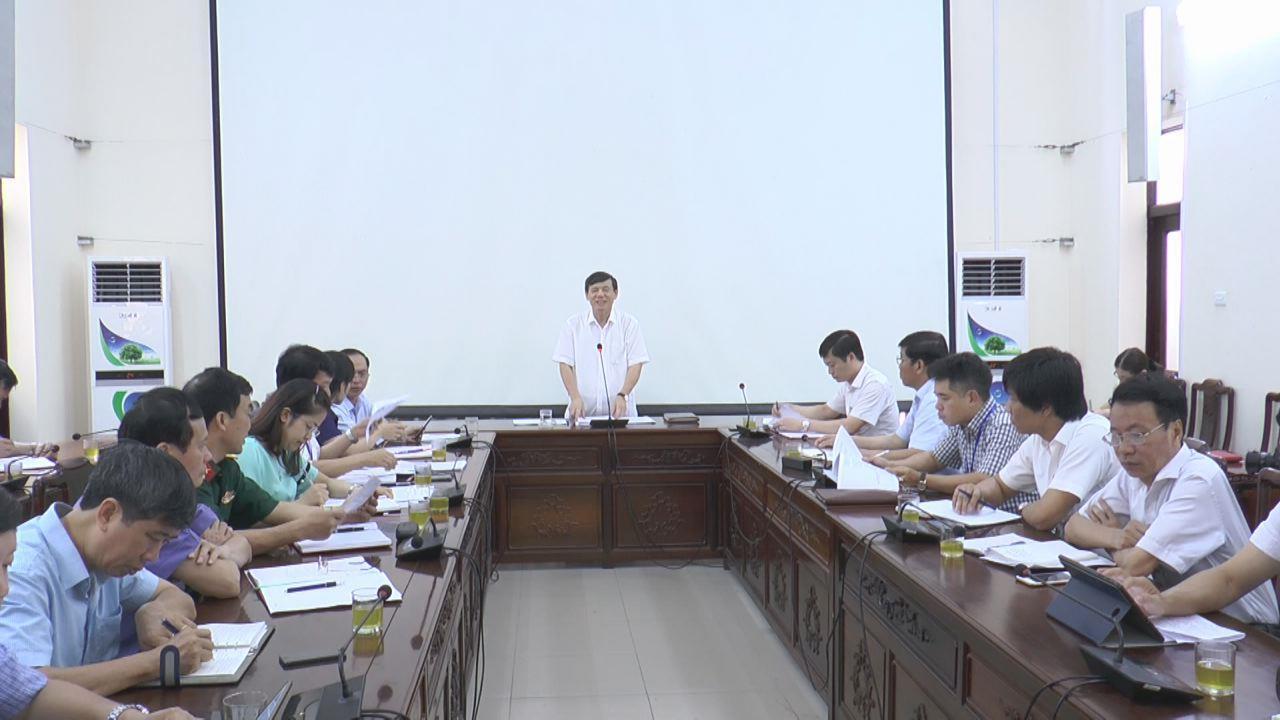 Họp bàn công tác chuẩn bị tổ chức Lễ kỷ niệm  70 năm ngày Bác Hồ ra lời kêu gọi thi đua ái quốc