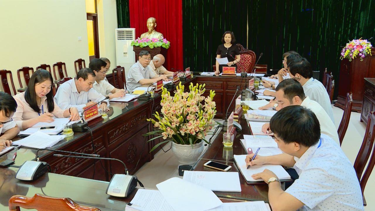 Thường trực HĐND tỉnh giám sát Sở Xây dựng  về công tác hỗ trợ xây dựng nhà ở cho người có công, người nghèo