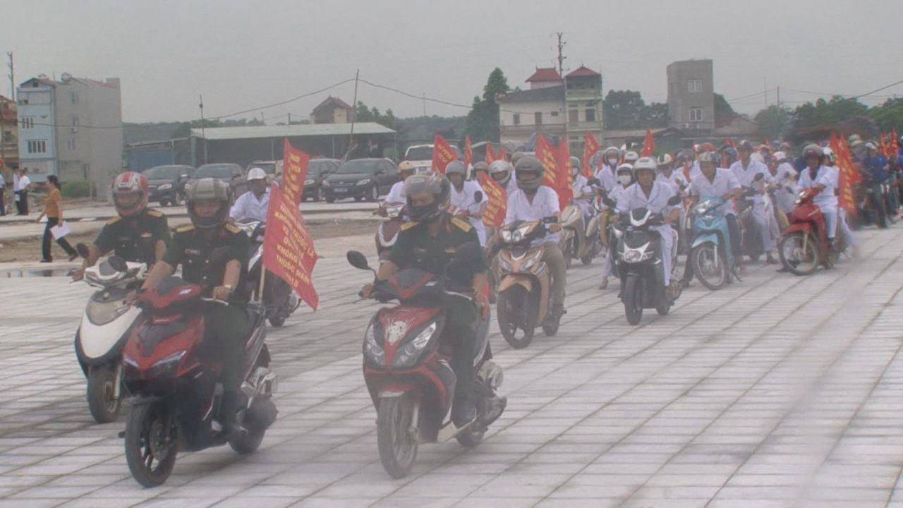Bắc Ninh: Mít tinh hưởng ứng Ngày Thế giới không thuốc lá