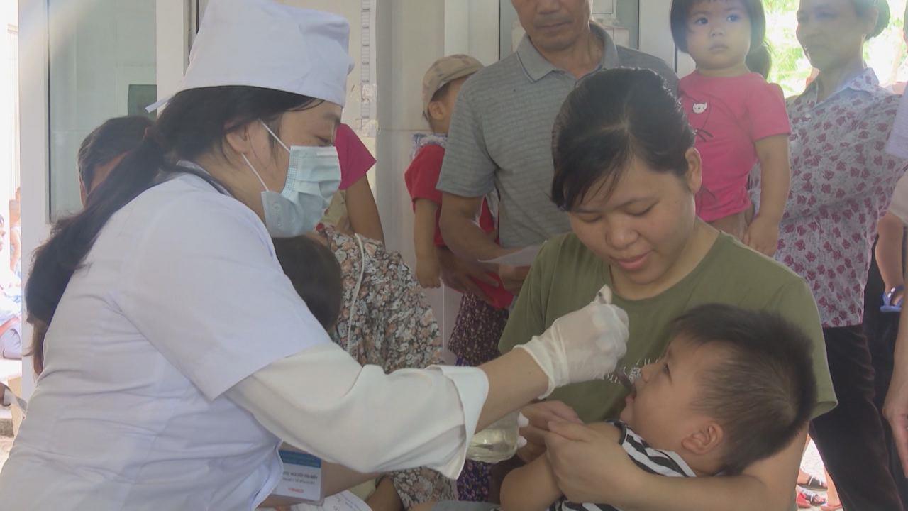 Bắc Ninh: 126 xã, phường, thị trấn triển khai chiến dịch bổ sung Vitamin A cho trẻ từ 6 – 36 tháng tuổi