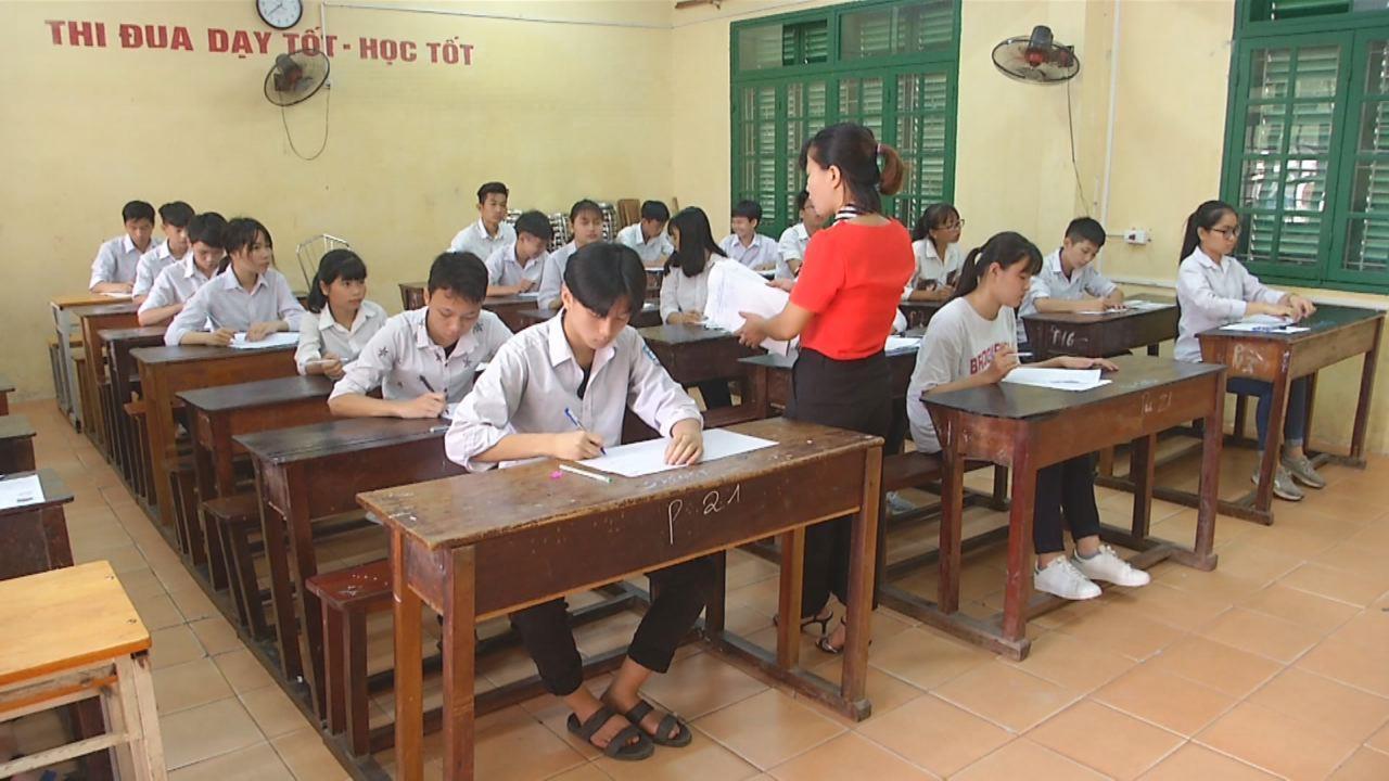 Bắc Ninh: Ngày đầu Kỳ thi tuyển sinh vào lớp 10 diễn ra nghiêm túc