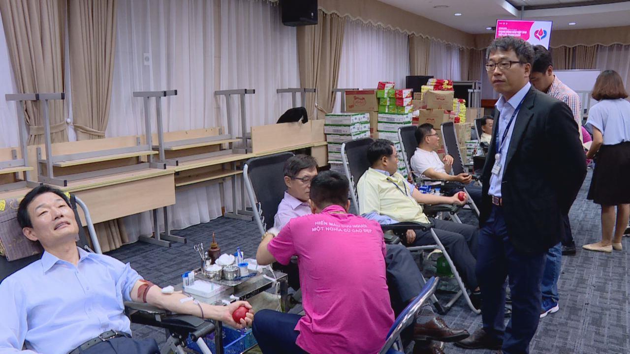 Công ty TNHH Samsung Electronics Việt Nam:  Gần 9.000 cán bộ, công nhân viên tham gia hiến máu tình nguyện