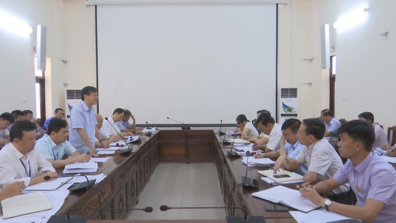 UBND tỉnh kiểm điểm việc thực hiện kết luận về giải quyết ô nhiễm môi trường tại thành phố Bắc Ninh