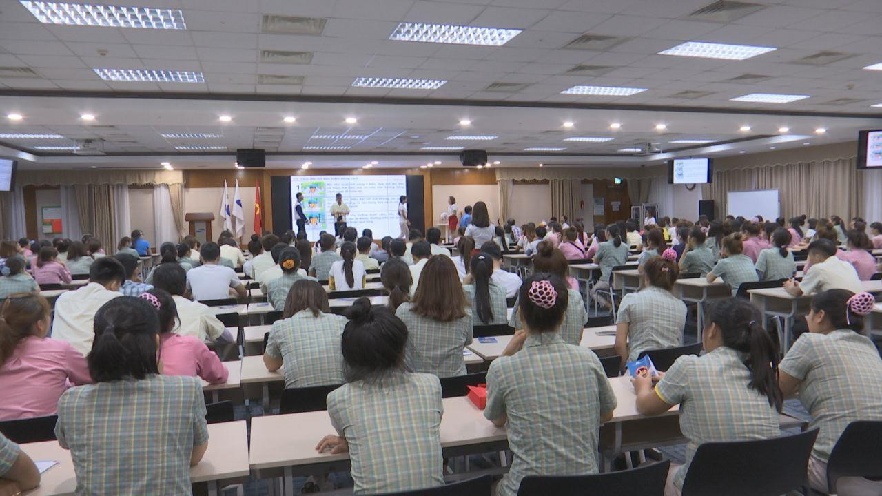 Tập huấn An toàn giao thông cho hơn 1000 công nhân SamSung Việt Nam