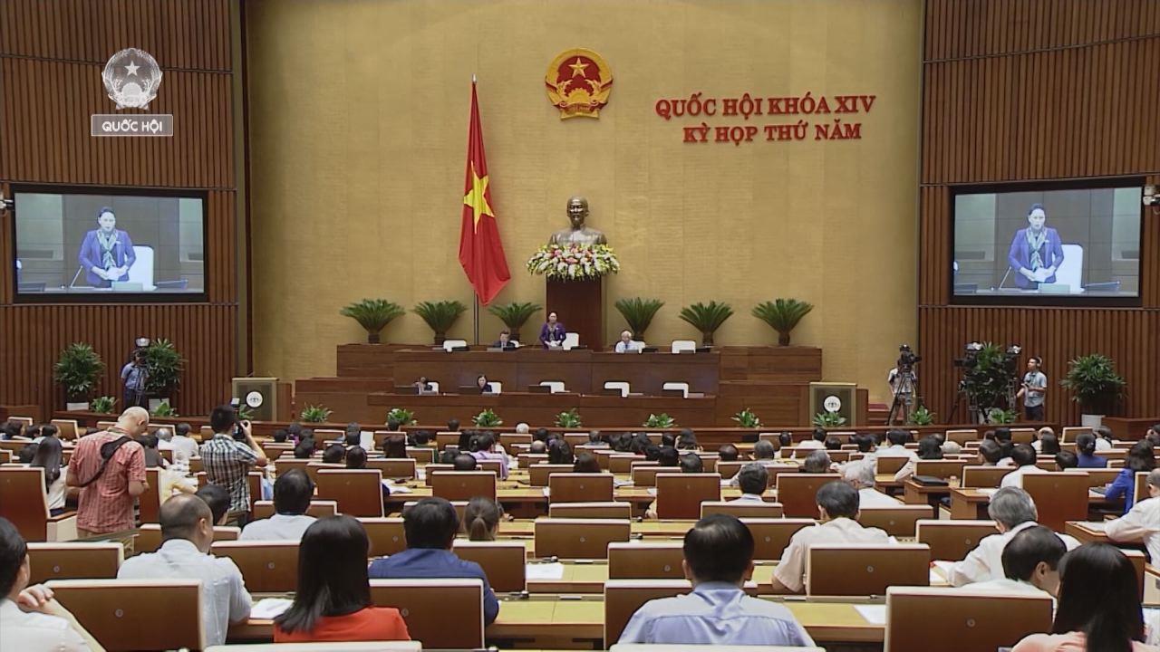 Quốc hội biểu quyết lùi thông qua Luật đặc khu, kêu gọi người dân bình tĩnh
