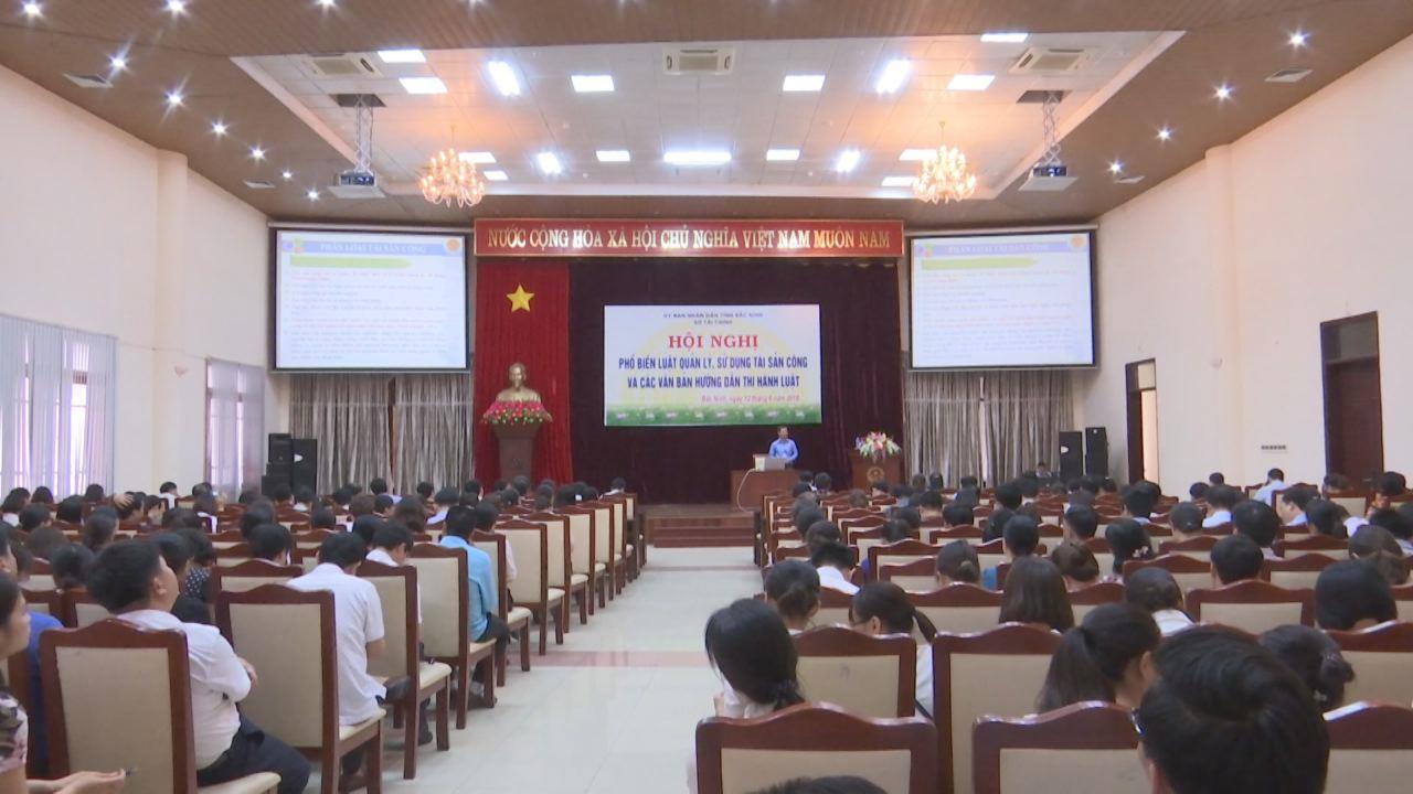 Sở Tài chính tỉnh triển khai Luật Quản lý, sử dụng tài sản công