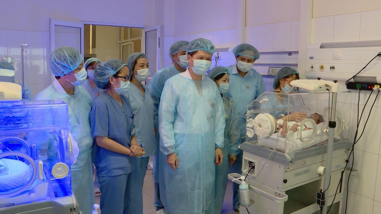 Ban Văn hóa – Xã hội, HĐND tỉnh giám sát Bệnh viện Sản nhi Bắc Ninh