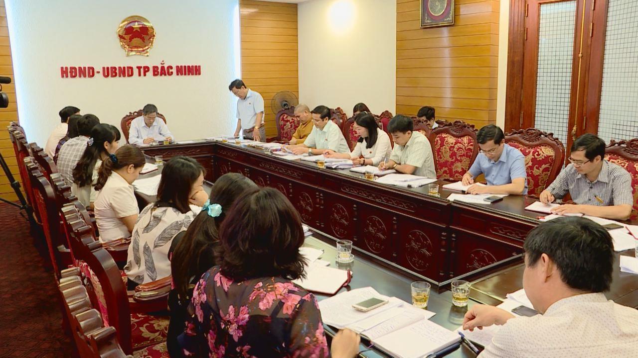 Tổ đại biểu HĐND tỉnh giám sát việc thực hiện các Nghị quyết chuyên đề tại thành phố Bắc Ninh