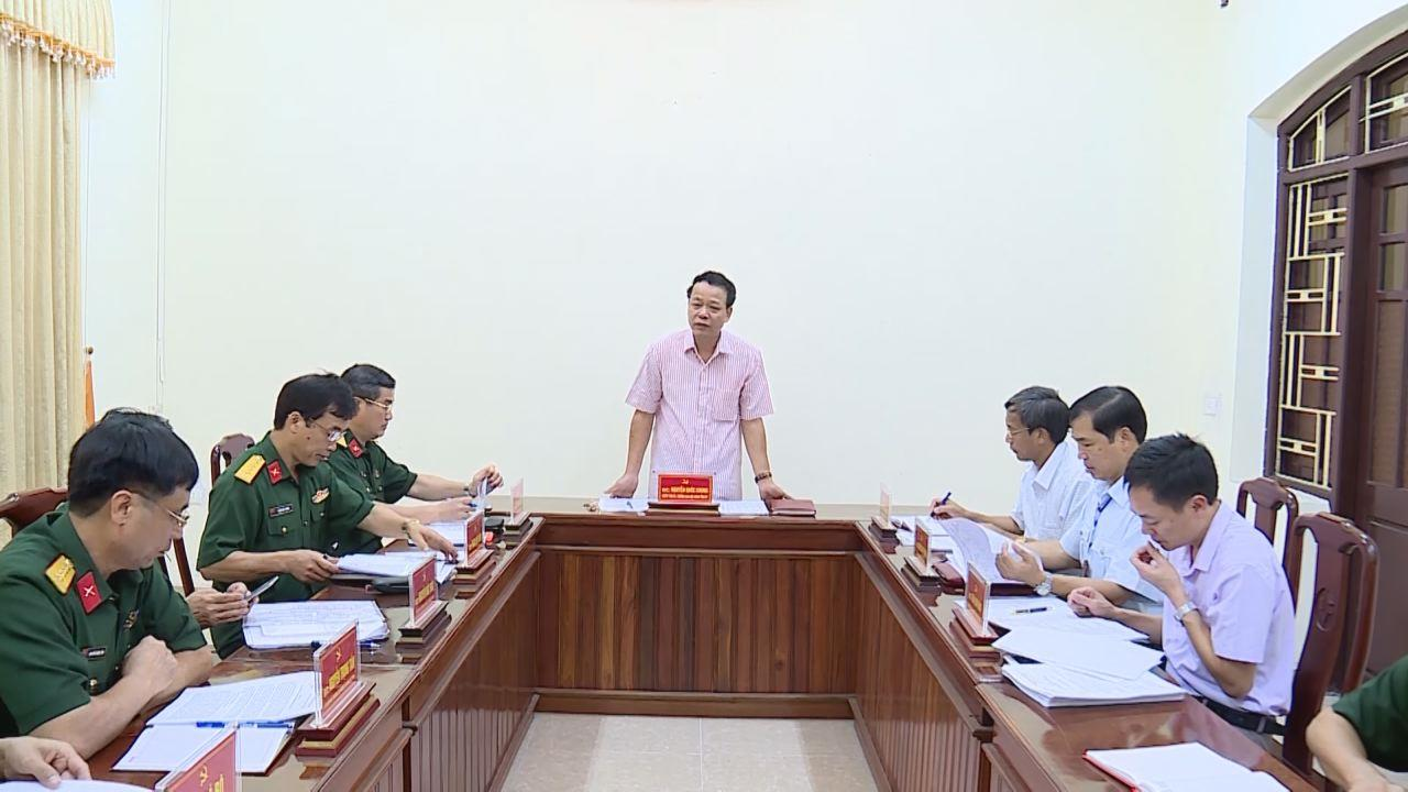 Kiểm tra, rà soát thực hiện công tác cán bộ tại Đảng ủy Quân sự tỉnh