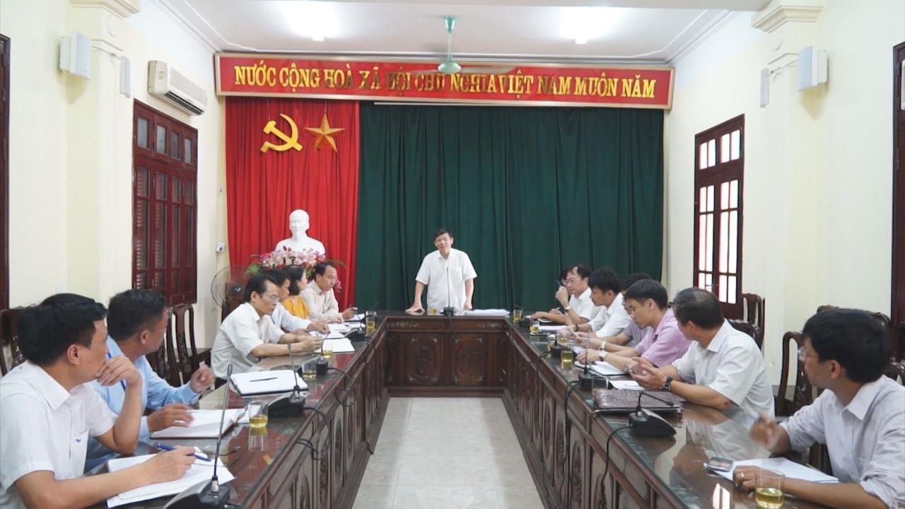 Phó Chủ tịch Thường trực UBND tỉnh làm việc tại thị xã Từ Sơn