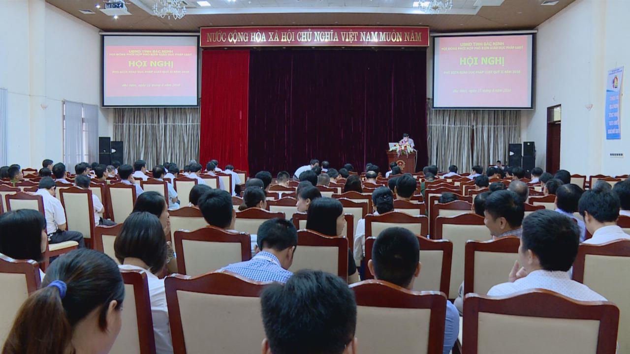 Hội nghị phổ biến, giáo dục pháp luật quý II/2018