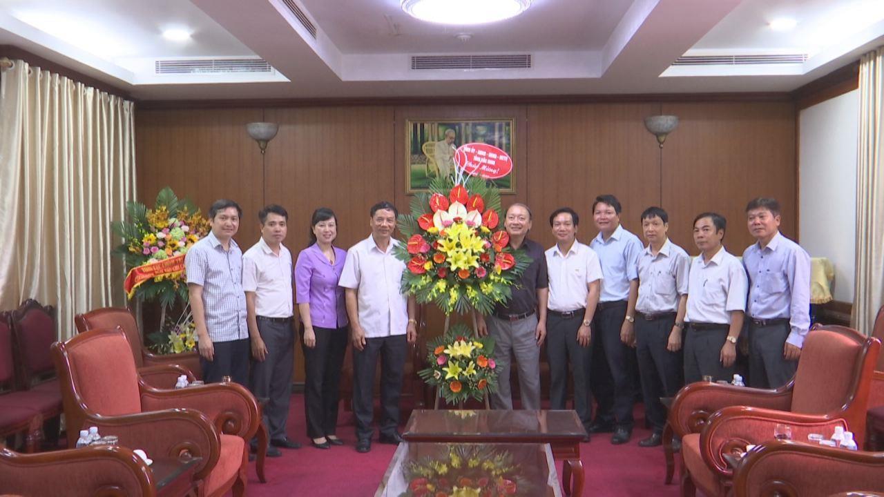 Lãnh đạo tỉnh chúc mừng nhân ngày Báo chí Cách mạng Việt nam tại Hà Nội