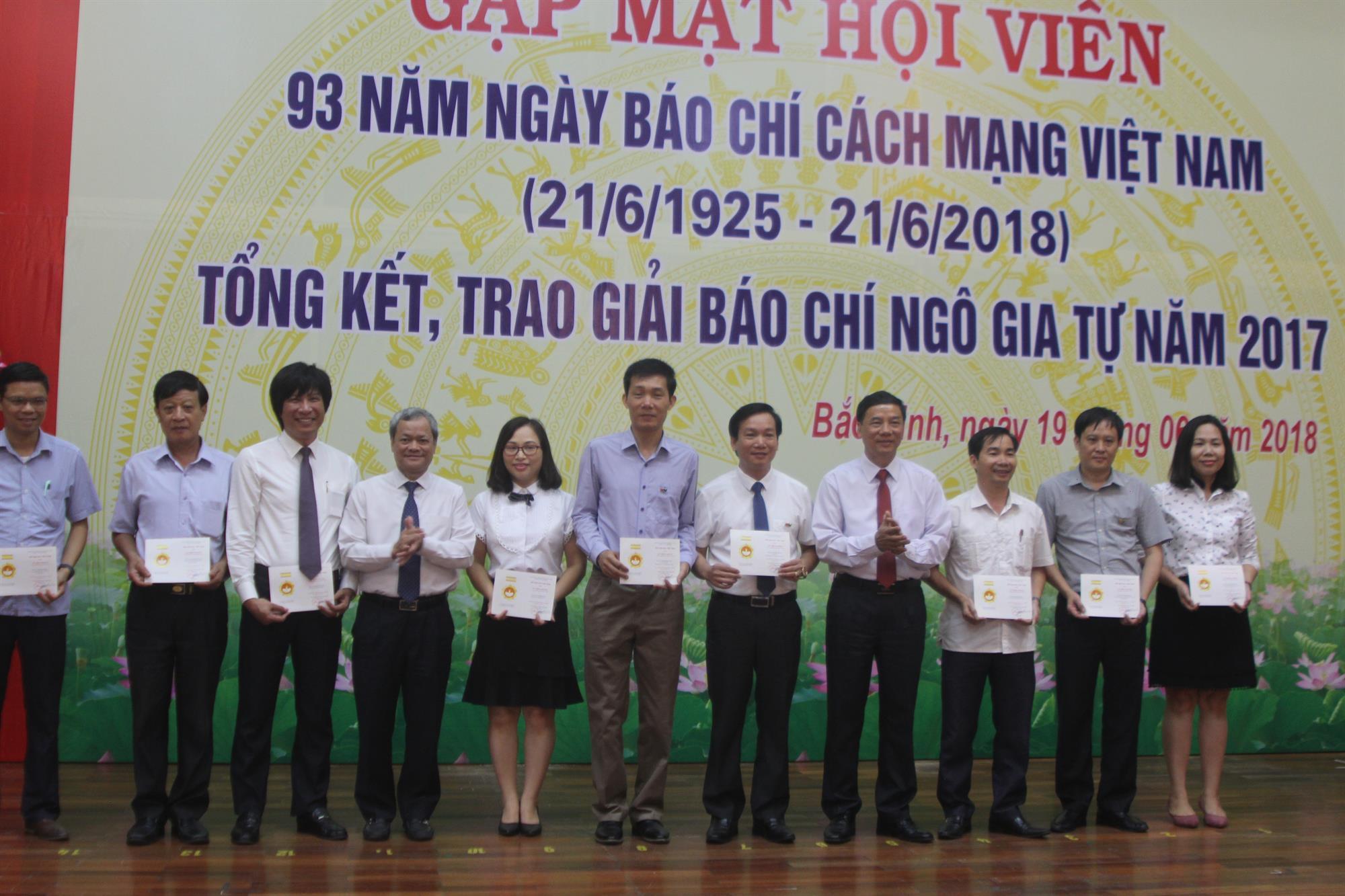 Hội Nhà báo tỉnh Bắc Ninh tổ chức Lễ kỷ niệm 93 năm Ngày Báo chí Cách mạng Việt Nam