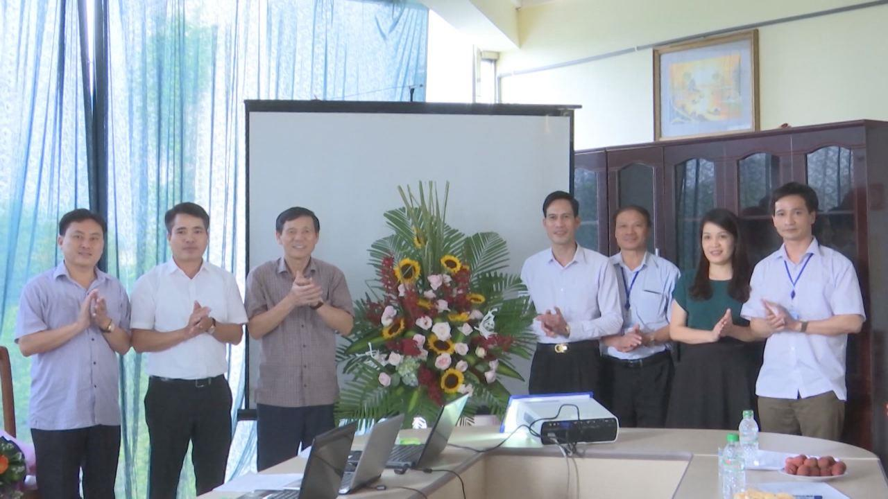 Lễ công bố thành lập Trang thông tin điện tử Ban Quản lý ATTP tỉnh