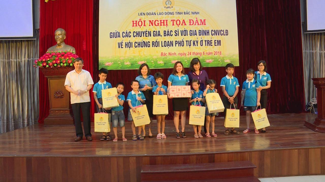 Bắc Ninh: Tọa đàm về hội chứng rối loạn phổ tự kỷ ở trẻ em