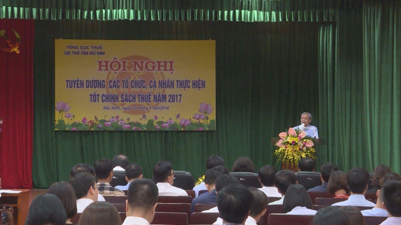 Bắc Ninh: Khen thưởng 142 tổ chức, cá nhân thực hiện tốt chính sách, pháp luật thuế