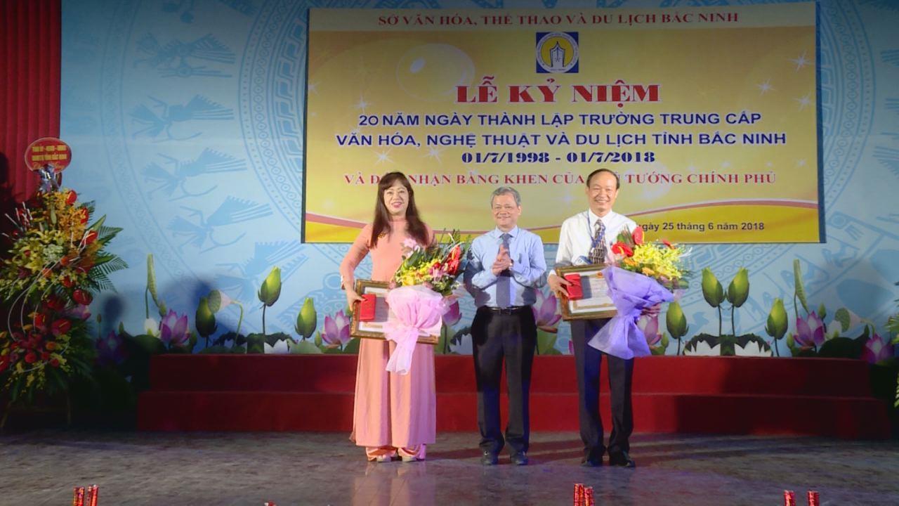 Trường Trung cấp Văn hóa, Nghệ thuật và Du lịch Bắc Ninh  kỷ niệm 20 năm thành lập