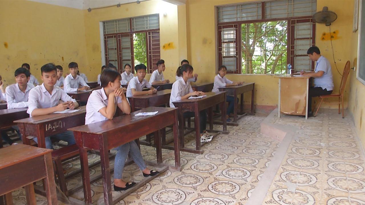 Bắc Ninh: Ngày đầu bước vào kỳ thi THPT Quốc gia năm 2018