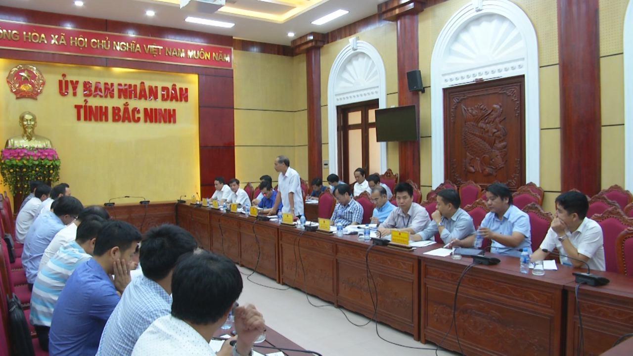 Đoàn công tác UBND tỉnh Hưng Yên làm việc với UBND tỉnh Bắc Ninh